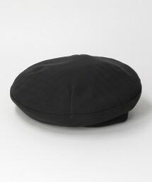 BY 直條紋 緹花織 貝雷帽