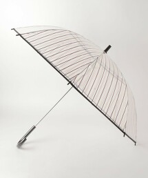 BY 透明 直條紋 雨傘