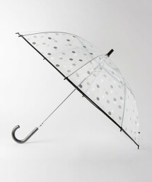 BY 透明 多色圓點 雨傘