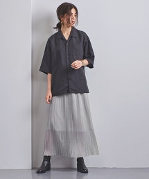 <STYLE for LIVING> 打摺 針織 長裙 OUTLET商品