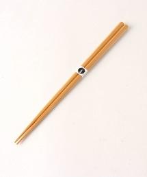 <公長齋小菅>煤竹 八角筷 23㎝