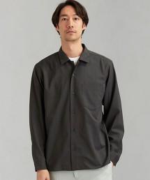 CM T/W輕薄寬領 L/S 襯衫 < 機能性面料 / 彈性・可水洗 >