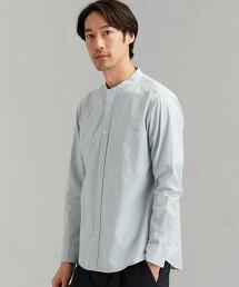 CM G/D 棉麻立領襯衫