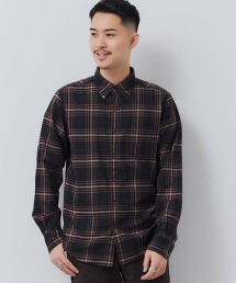 SC NATURAL FIT 維也拉 格紋釦領襯衫