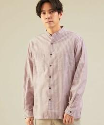 SC 輕鬆版型 牛津布 立領襯衫 長袖襯衫