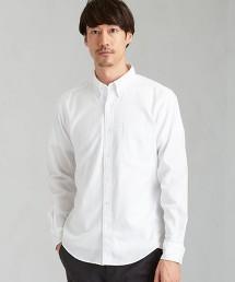 SC◆自然合身 起毛 釦領 LS  襯衫