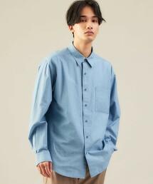 SC 有機棉 青年布 標準領長袖襯衫