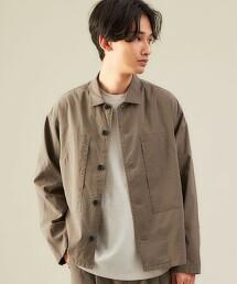 CM 銅氨纖維 亞麻 寬鬆襯衫外套