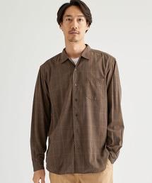 CM TR 格紋 寬版 寬角領襯衫