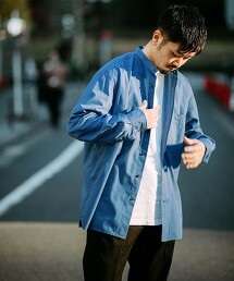 特別訂製 [ UNIVERSAL OVERALL ] 立領 襯衫