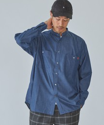 特別訂製 [ UNIVERSAL OVERALL ] 立領襯衫