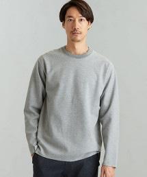 CM 雙層棉紗 橫條紋 圓領 LS T恤