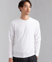 CM 有機棉 圓領 長袖 T恤