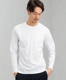 CM 有機 整潔 圓領 LS T恤
