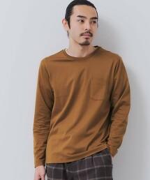 CSM 有機棉 素色 圓領 長袖T恤