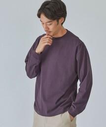 SC 蜜桃紋 圓領 長袖T恤
