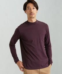 CM 透明 微高領 LS T恤