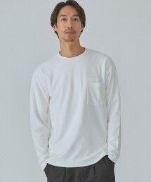 CM 圓領 長袖T恤 日本製