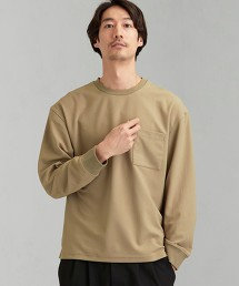 ECO-PET 帆布 圓領 長袖 T恤 < 機能性生地 / 吸水速乾・彈性 >