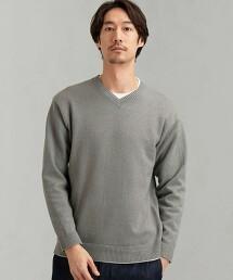 SC CO/NY 平織 層次針織衫 < 針織衫・T恤的2件組合 >