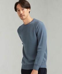 SC 單畦編 連肩袖 圓領毛衣