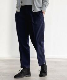 SC☆方平織 WIDE 2P 9分錐形褲