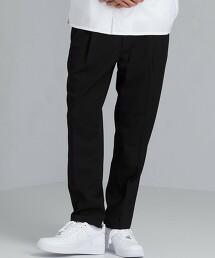 SC 西服布料 寬版 2摺 錐形褲