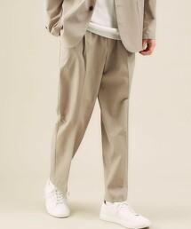 < 機能 / 吸水速乾・可機洗 > 小松MATERE 單摺 9分丈 輕便褲