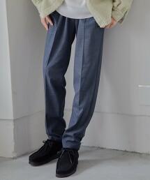 仿羊毛 多用途 輕便長褲 -機洗・抗皺・彈性-
