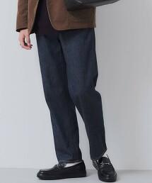 SC 有機棉 丹寧 錐形褲
