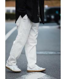 ★ GLR/ lab 斜紋織卡其布 輕便褲