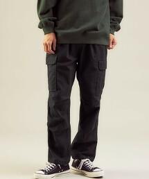 <GLR/ lab>平纹结子花呢 BDU 大口袋工作褲