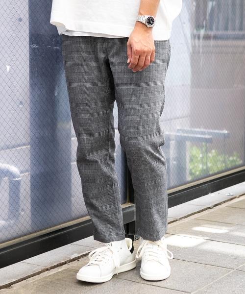 特別訂製 SC  WILD THINGS FULFLAN 錐形格紋褲