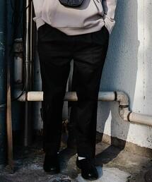 【 WEB限定 】[ GLR/ -or ] 錐形褲