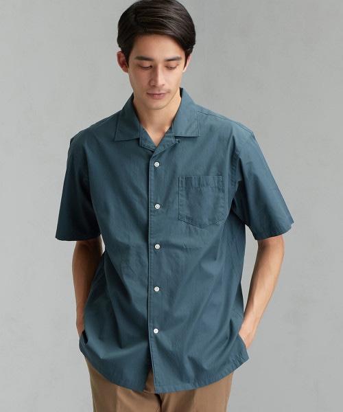 CM 棉絲質 開領 SS 短袖 襯衫