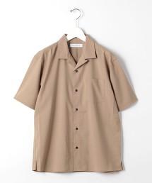 CM T/W 格紋 開領 短袖襯衫 < 機能性 / 彈性可水洗 >#