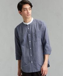 【先行預購】CM 泡泡紗 白立領 7分袖 襯衫