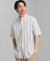 [ GYMPHLEX] SC★GYMPHLEX MLT 直條紋釦領襯衫