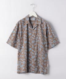特別訂製 [ reyn spooner ] 開領 短袖襯衫