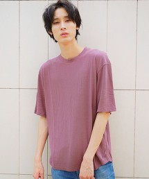 SC ☆ 蠶絲 短纖維 圓領 短袖T恤