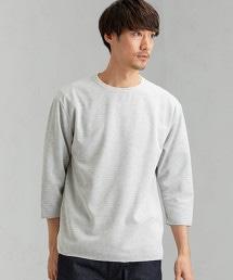 CM 雙面材質 船型領7分袖 T恤