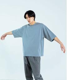 SC 苧麻 棉 圓領5分袖上衣