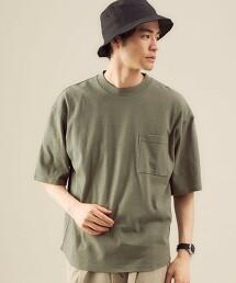 SC 棉麻 縐紗 圓領短袖T恤