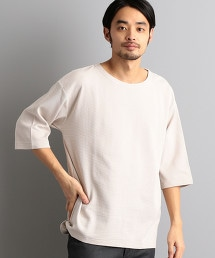 【先行預購】SC 平針 一字領 5分袖 T恤
