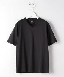 CM 有機棉 簡潔V領短袖T恤