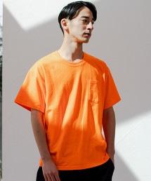 [ONEITA]SC ONEITA 螢光口袋T恤