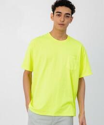 特別訂製 [ ONEITA ] SC  螢光色 口袋 T恤