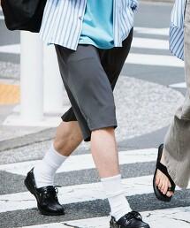 【 WEB限定 】[ GLR/ -or ]  綾織 輕便短褲 可成套
