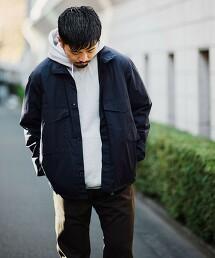 ☆【軍裝無領外套】< 機能性 / 彈性 > PV 高密度平織 BDU 襯衫式外套