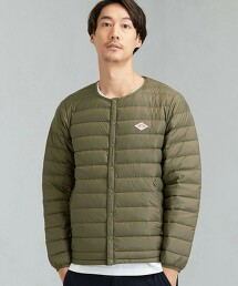 [ DANTON ] SC ★ 圓領 內搭薄羽絨 夾克